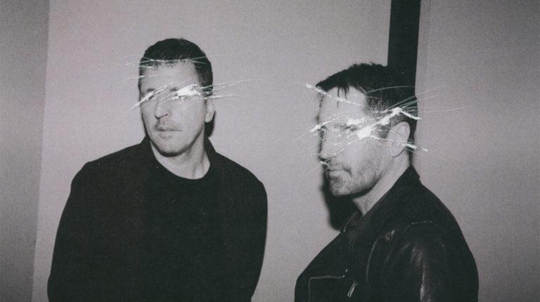 Atticus Ross y Trent Reznor, en una foto promocional de Nine Inch Nails