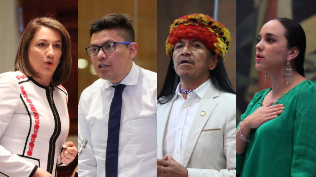 Los correístas que estaban en la Embajada de México abandonaron el país