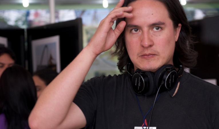 Iván Mora MAnzano, durante el rodaje de su película 'Sin otoño sin primavera'