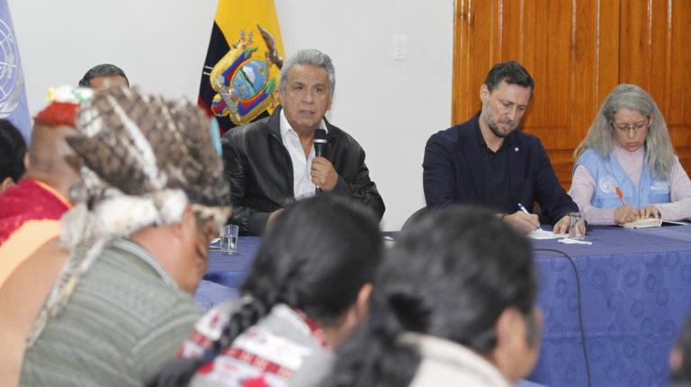 acuerdo gobierno indígenas