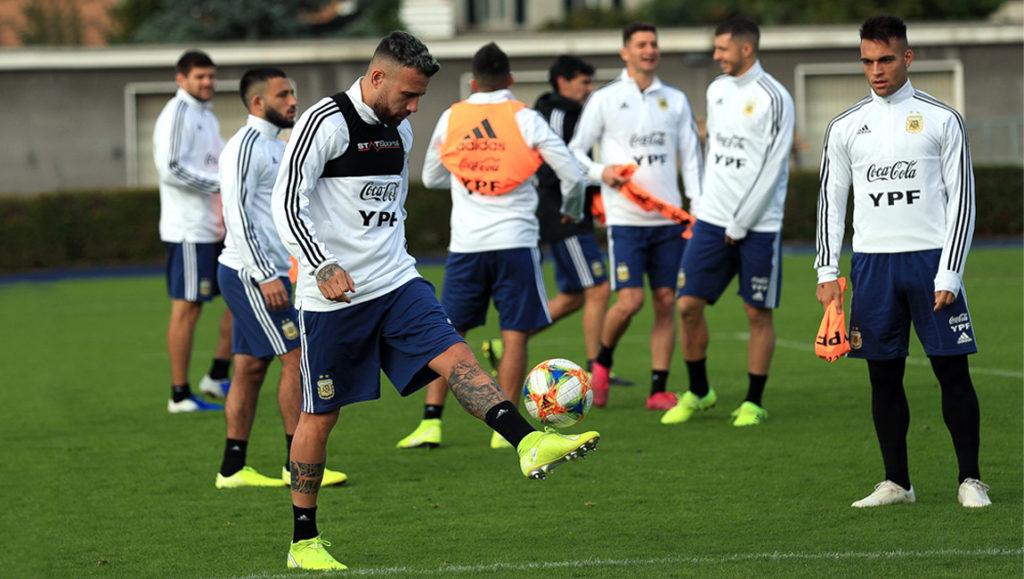 Argentina confirmó la alineación para jugar frente a Ecuador