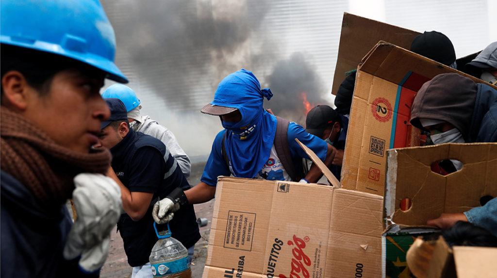 ONU en Ecuador hace llamado al diálogo y pide fin a la violencia