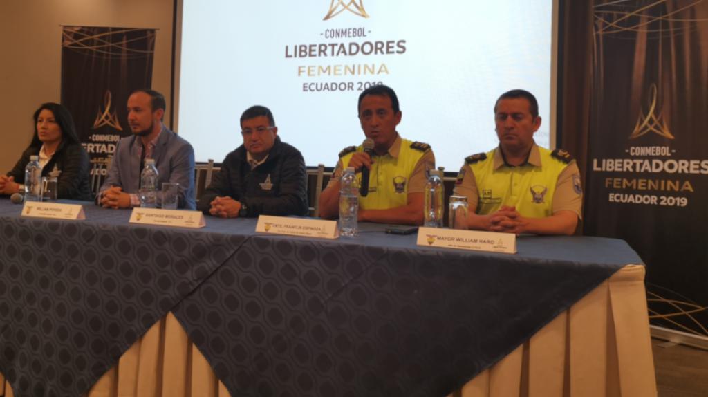 El comité organizador y la Policía afirman que habrá la seguridad necesaria para la Copa Libertadores femenina