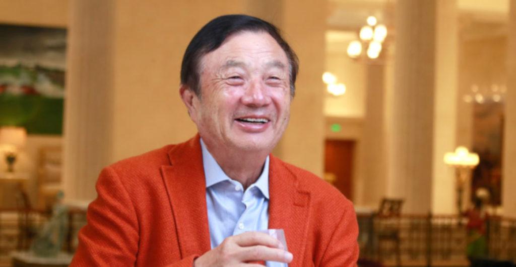 Huawei inició vendiendo productos de otras marcas en 1987