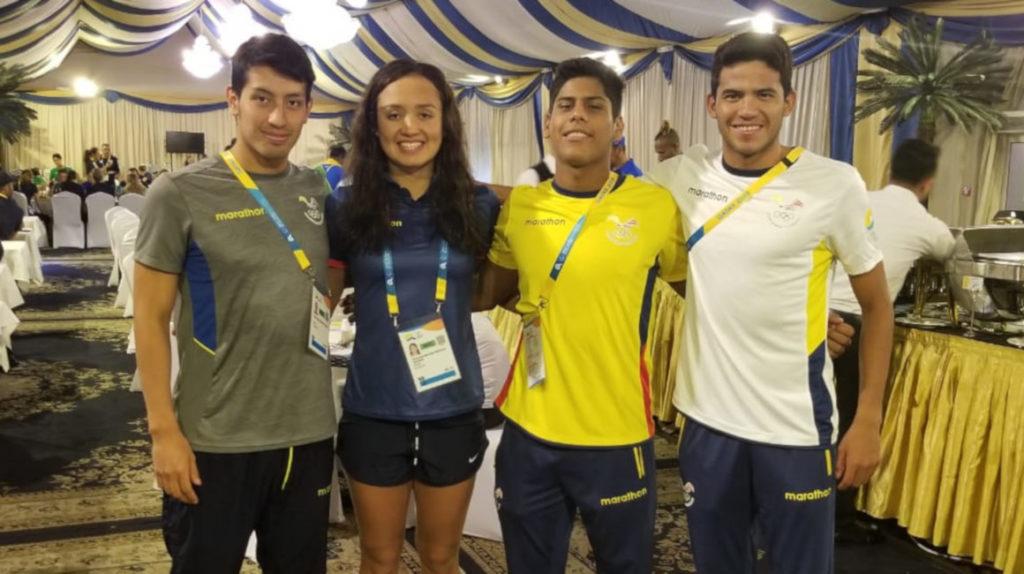 Ecuador lleva seis deportistas a los primeros Juegos Mundiales de Playa