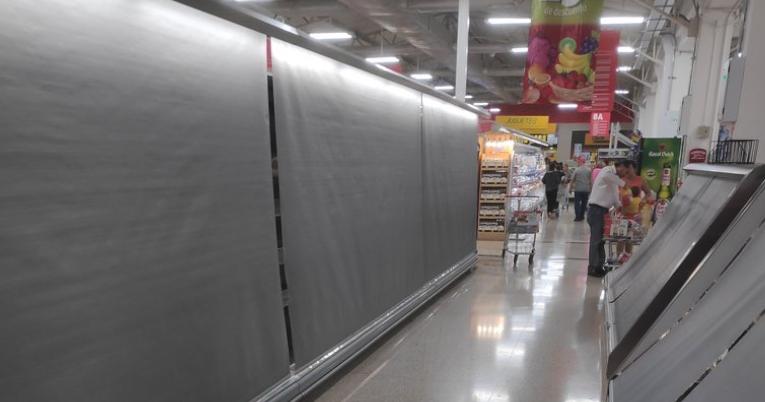 Supermercado de grupo El Rosado en Guayaquil.