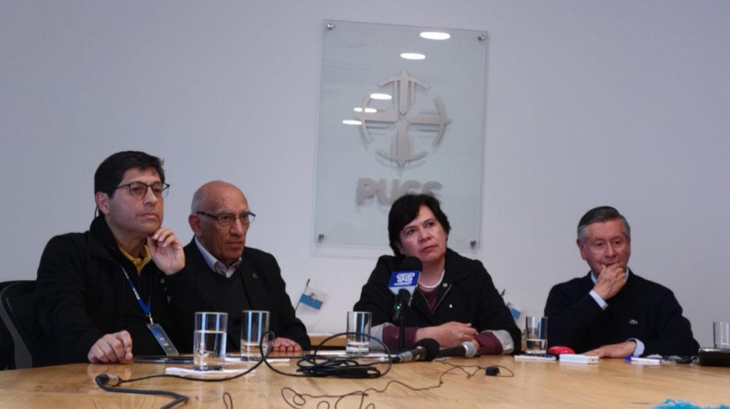 Universidades en Quito denuncian la represión policial e infiltrados en los centros de acogida
