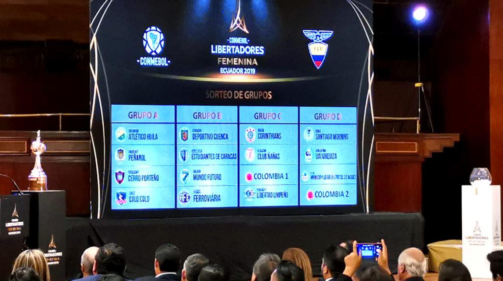 Horarios de la primera fecha de la Copa Libertadores femenina en Quito