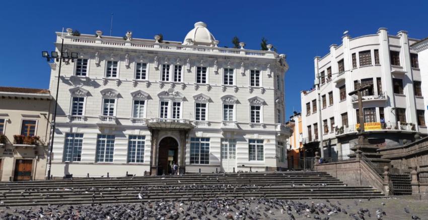 Varios hoteles cerraron sus puertas en el centro de la ciudad.