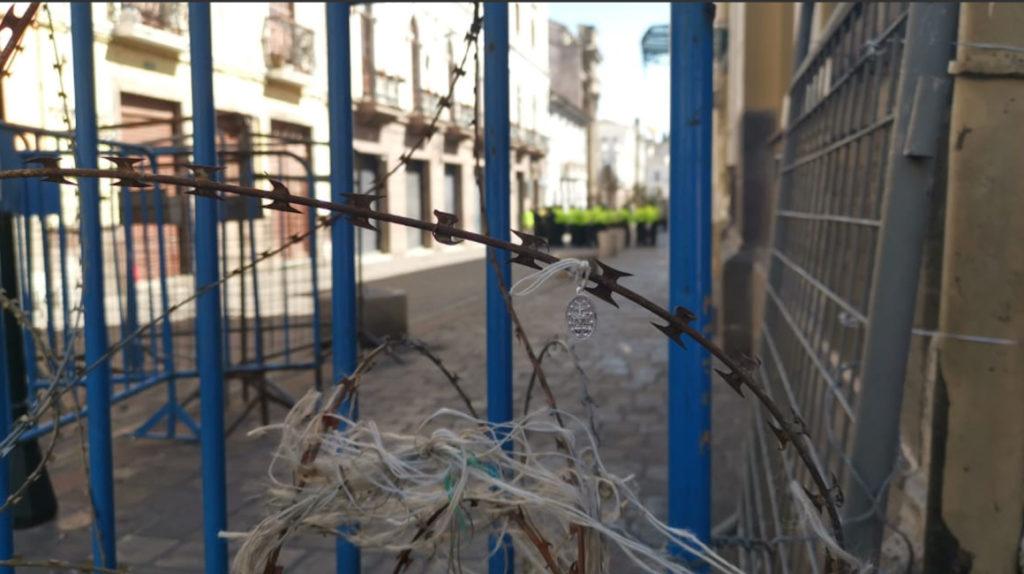 El Centro Histórico de Quito permanece blindado