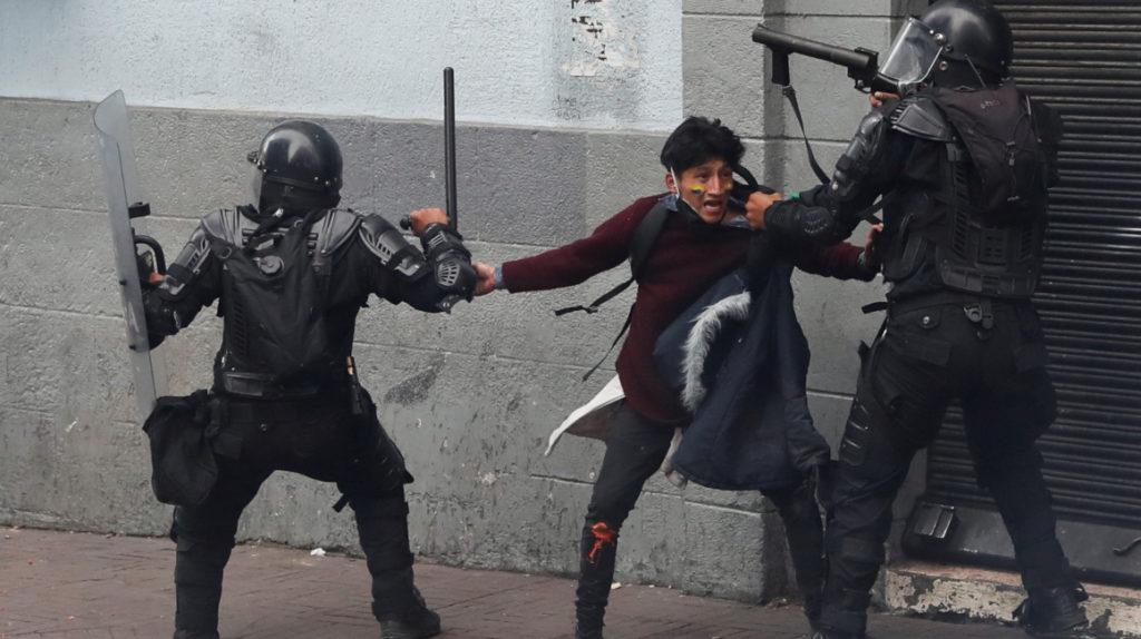 Hay 766 detenidos en todo el país tras las jornadas de manifestaciones