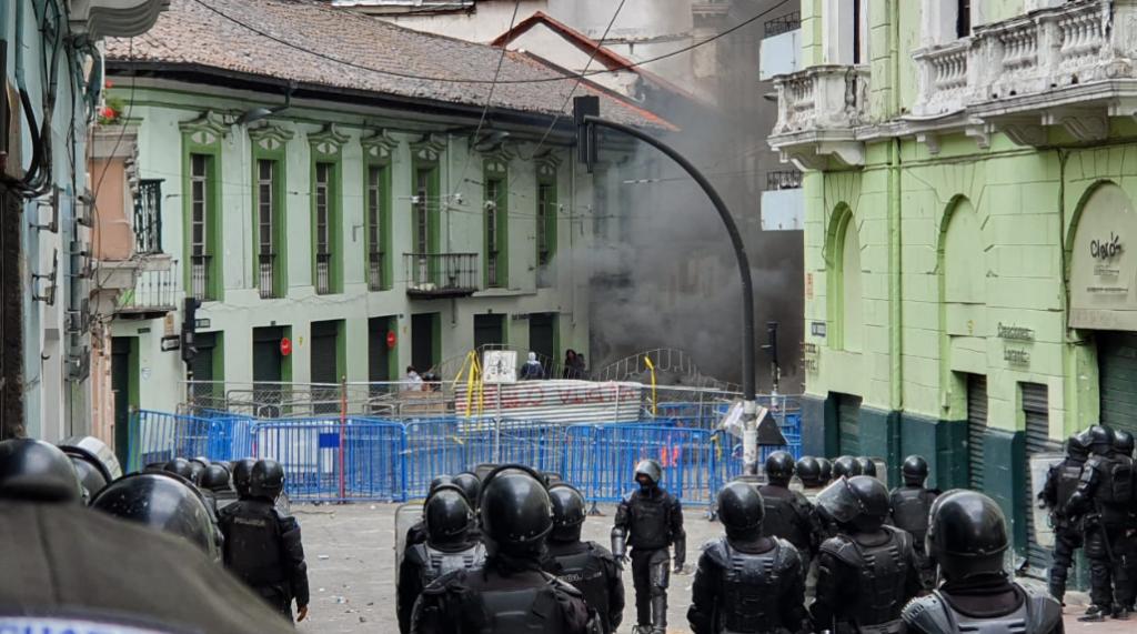 142 personas han sido procesadas en los seis días de protesta