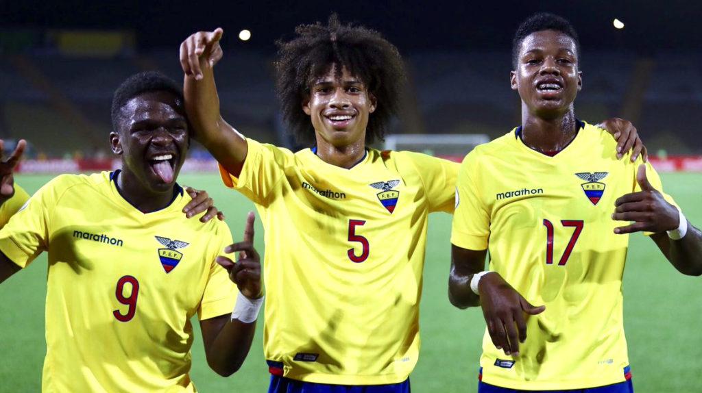 Ecuador será la sede del torneo Sudamericano Sub 17 en 2021