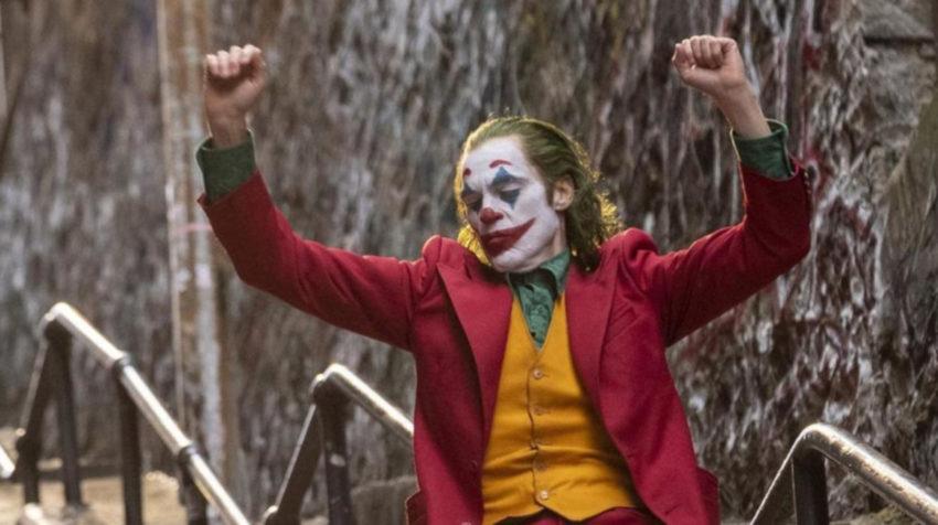 La famosa del Joker, interpretado por Joaquin Phoenix, bajando por las escaleras.