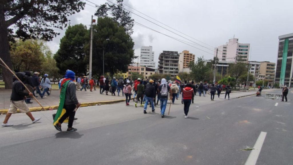 ONU expresa su preocupación por violencia de las protestas