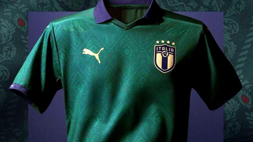 La selección italiana vestirá de verde por segunda vez en la historia