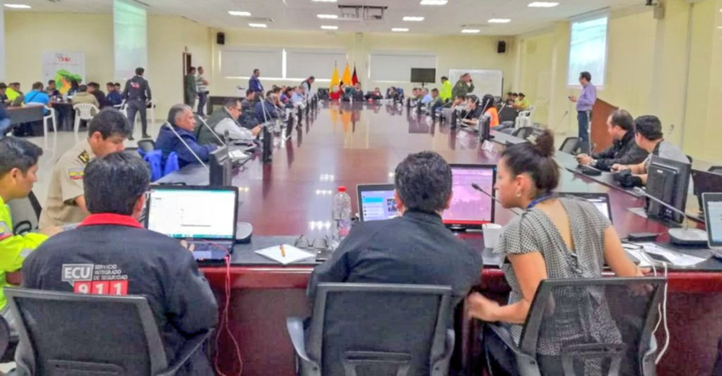 Gobierno instala 16 Puestos de Mando Unificado en los centros ECU 911 del país