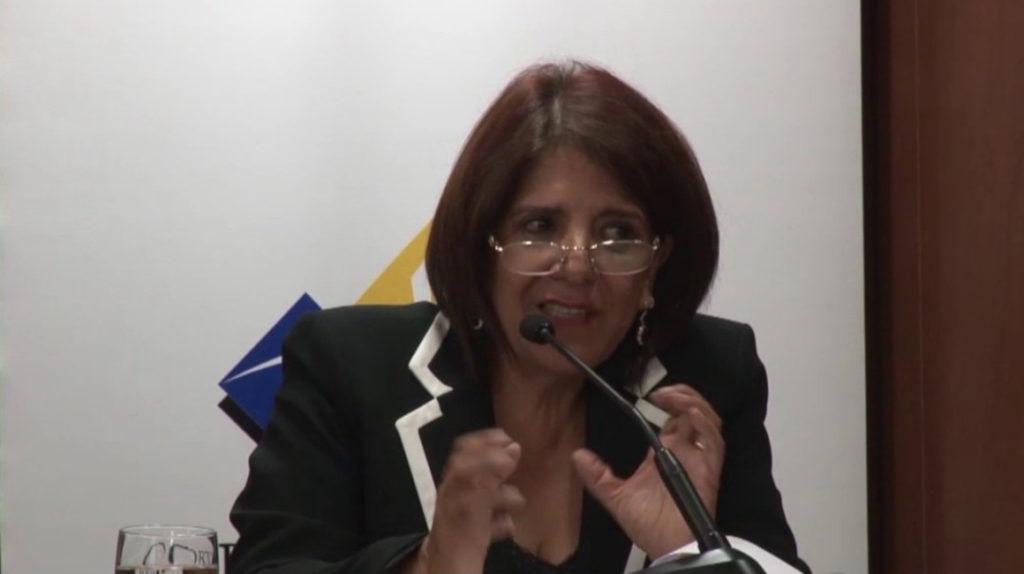 María Rosa Merchán rechaza la destitución de dos jueces ordenada por la Judicatura