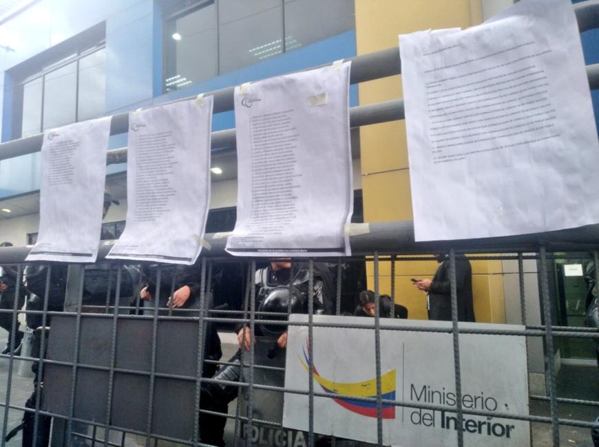 Juez de flagrancias liberará a 52 detenidos de las manifestaciones en Quito