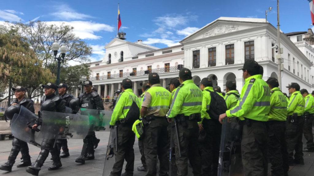 Alcalde de Quito propone que la presidencia y el municipio salgan del Centro Histórico