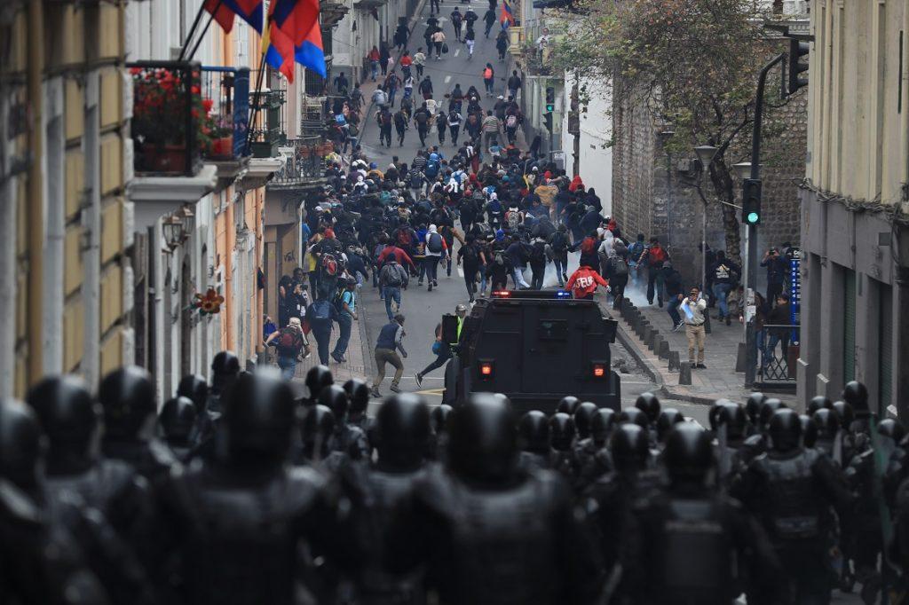 195 detenidos por vandalismo y bloqueo de vías durante el paro nacional