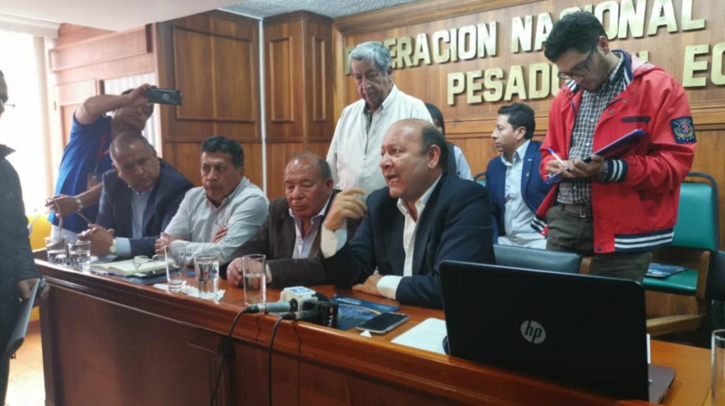 Federación Nacional de Transporte Pesado se deslinda del paro