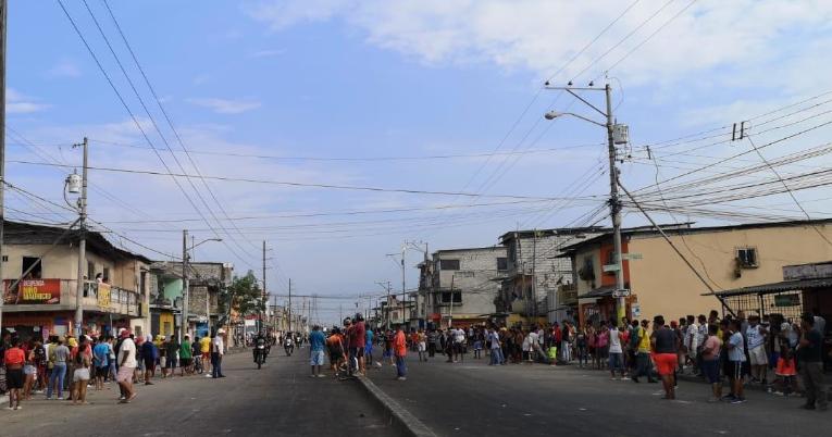 Saqueos en Guayaquil, 3 de octubre de 2019.