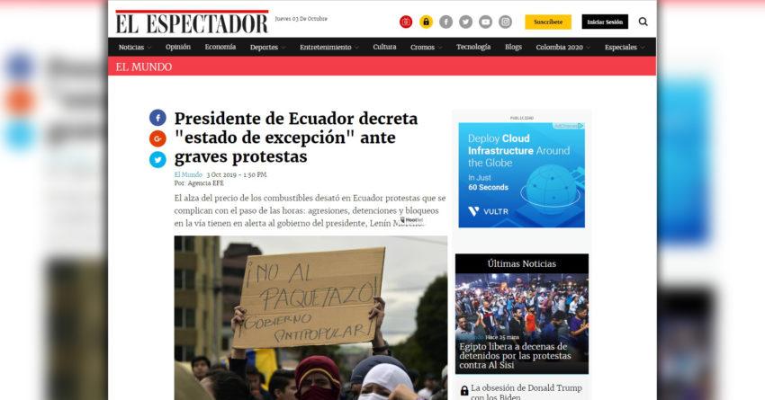 El Espectador - Colombia