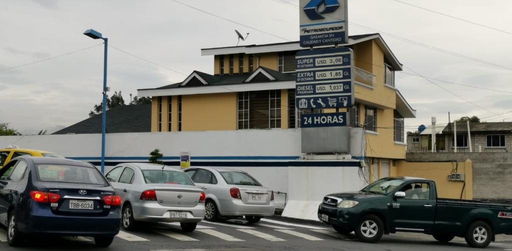 El 7% del gasto público en Ecuador se destina a subsidiar combustibles y electricidad