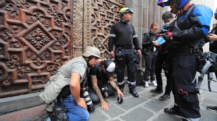 Foto Archivo: Fotógrafos y periodistas fueron agredidos por la Policía.