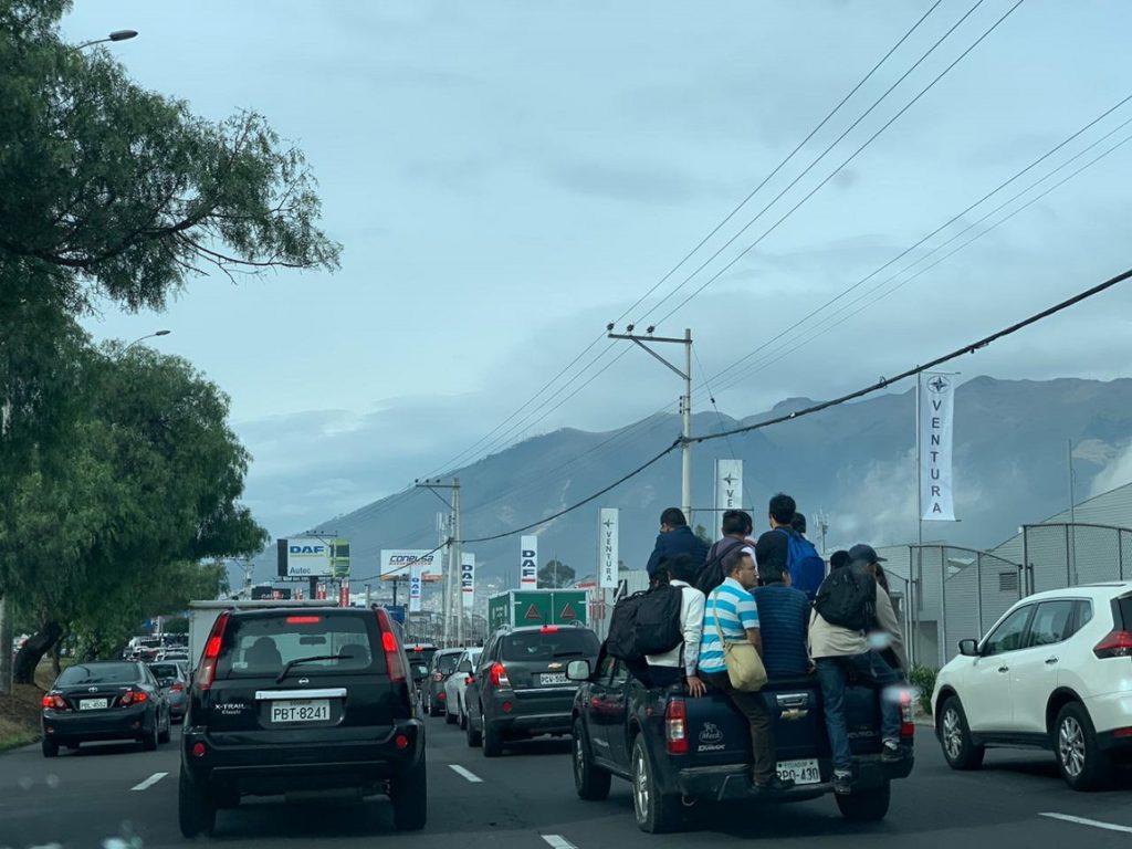 Paro del transporte altera las actividades en el país
