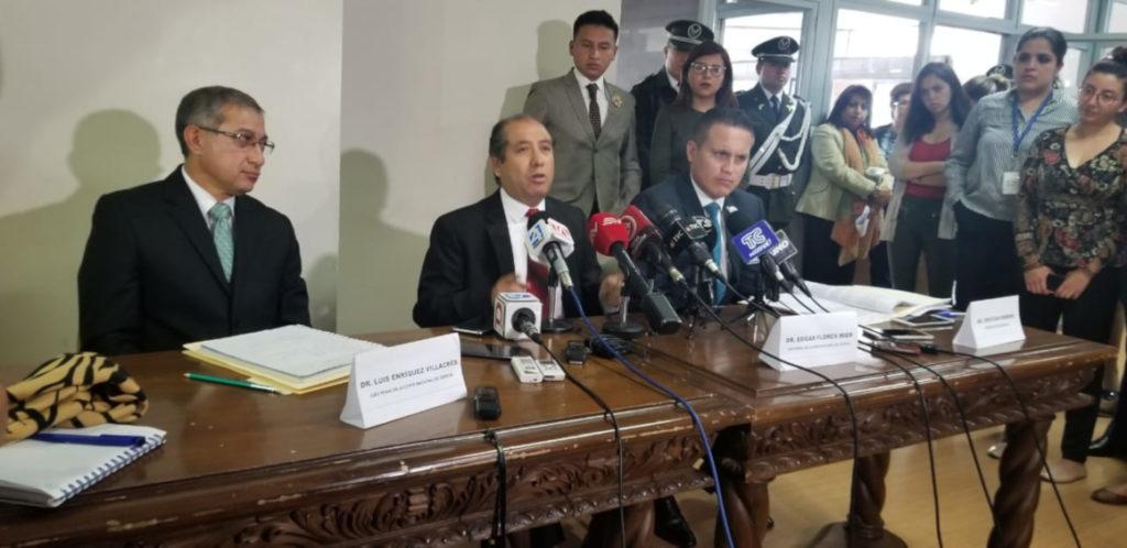 """Jueces destituidos por la Judicatura dicen que """"empezó la toma de la Corte Nacional"""""""