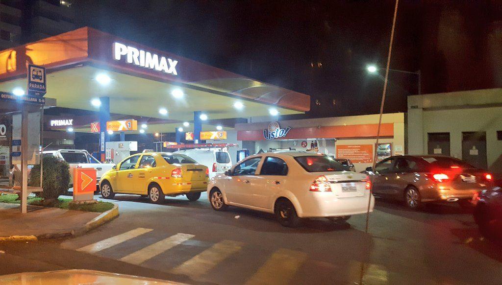 Eliminación del subsidio a la gasolina y diésel rige desde el 3 de octubre