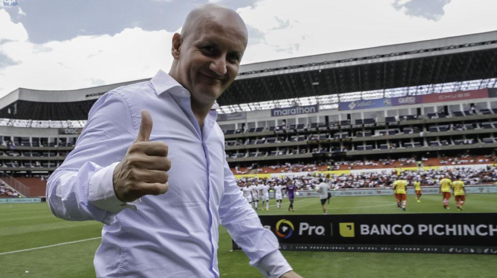 Pablo Repetto continuará en Liga de Quito hasta diciembre de 2021