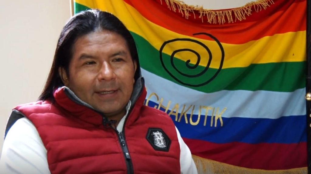 """Marlon Santi: """"somos la segunda fuerza electoral"""""""