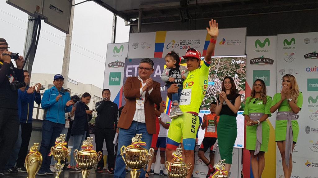 Jorge Montenegro será el líder de Ecuador en el Tour Colombia 2.1