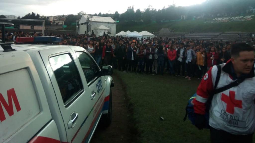 Un fallecido durante concierto previo a las Fiestas de Quito