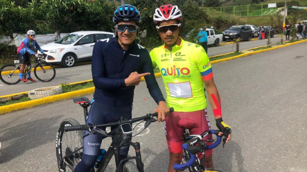 Jorge Montenegro es el virtual campeón de la Vuelta al Ecuador