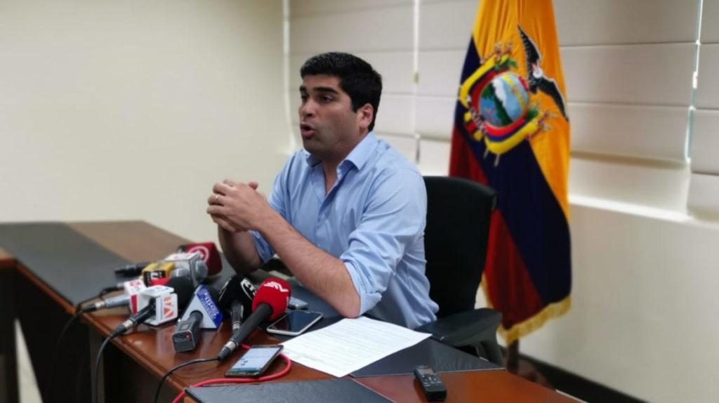 Sonnenholzner: las plataformas tecnológicas quieren tributar en Ecuador