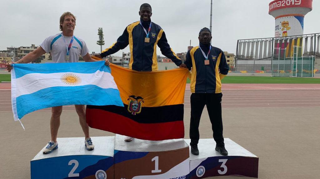 Gudman Chalá ganó medalla de oro en el Iberoamericano de Lima