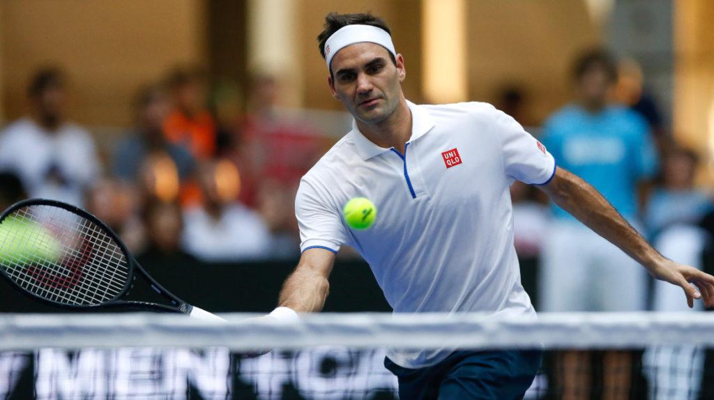 Cinco niños pelotearán con Roger Federer en Quito