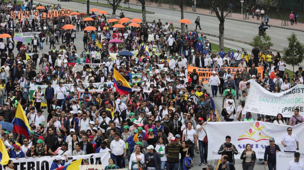 Lo que debe conocer sobre la huelga que inició hoy en Colombia