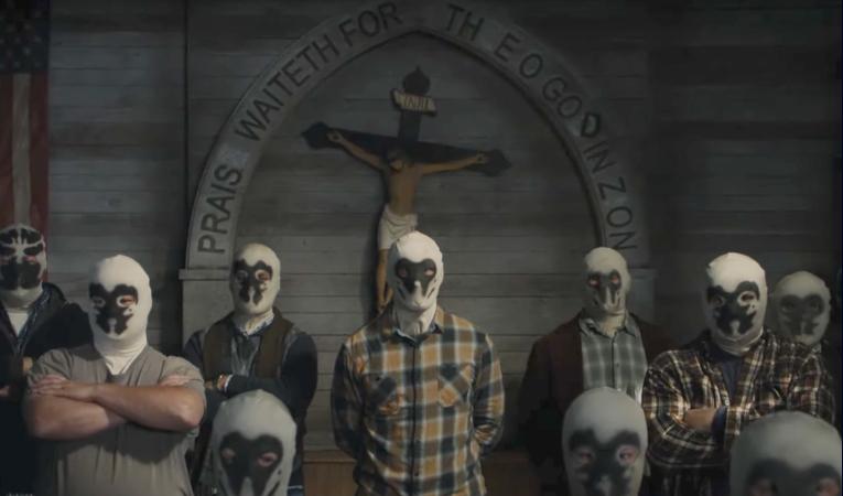 Fotograma de la primer episodio de 'Watchmen', de HBO.