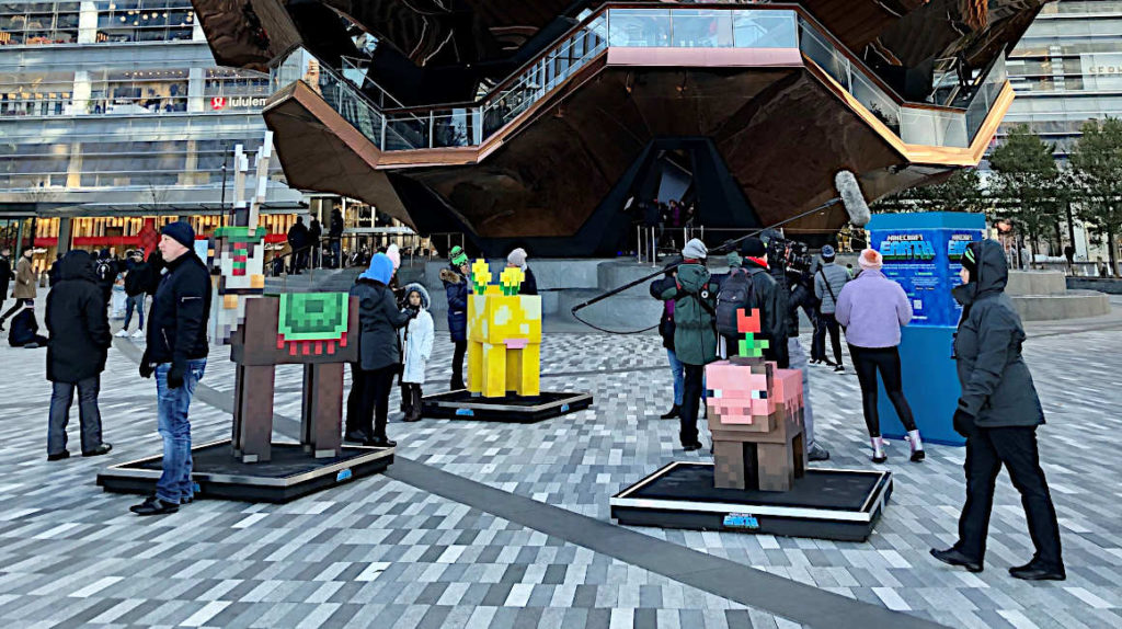 El fenómeno de 'Minecraft' llega a los móviles a través de la realidad aumentada