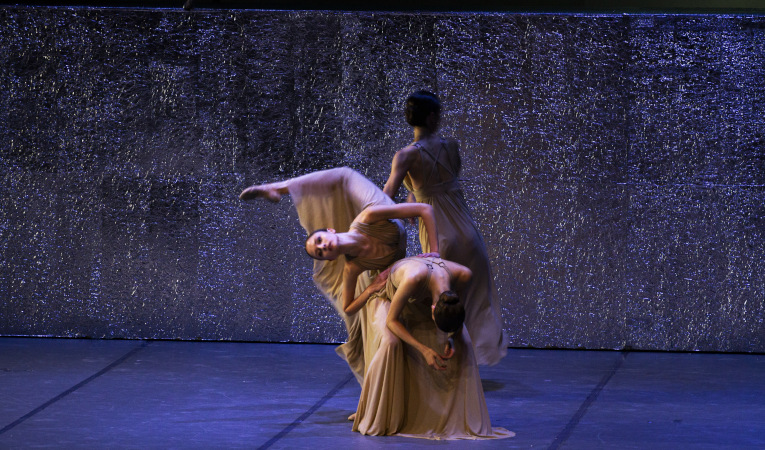 Momento de 'Dictionary of the Khazars Dreamhunters', del Ballet del Teatro Nacional de Belgrado.