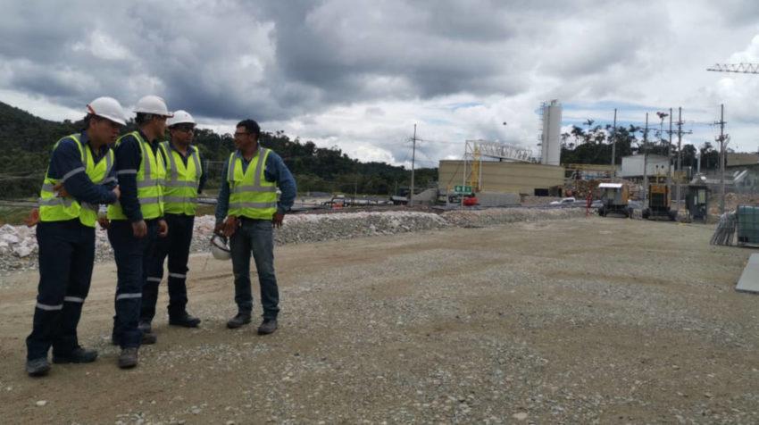 Vista general del proyecto minero Fruta del Norte, en la provincia de Zamora Chinchipe, en noviembre de 2019.