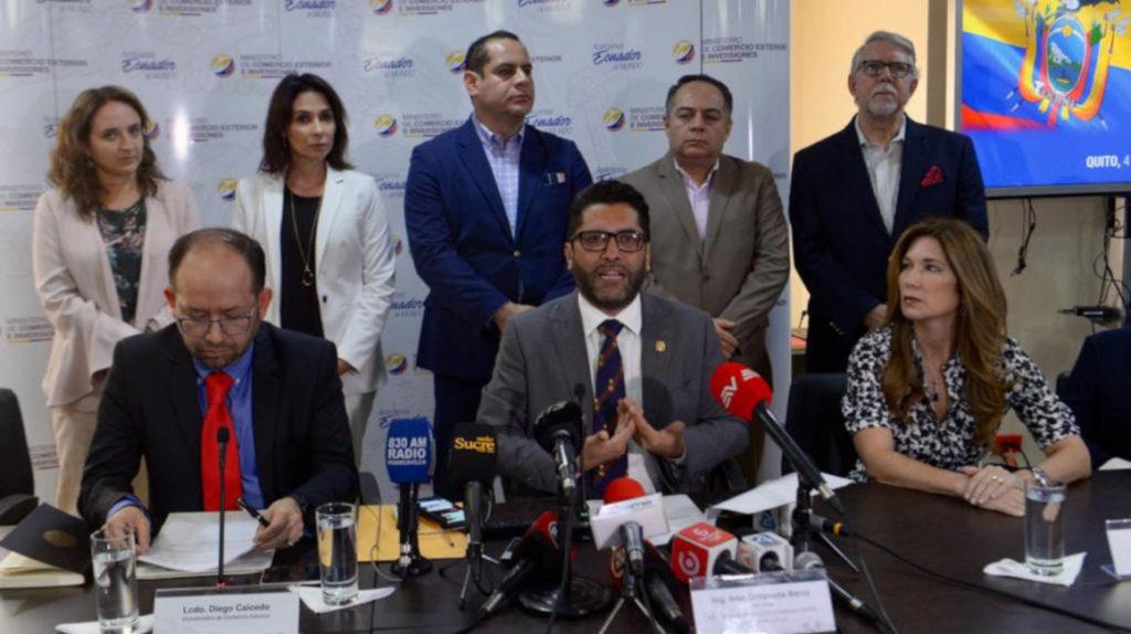 Delegados de Ecuador y Estados Unidos se reunirán a inicios de diciembre