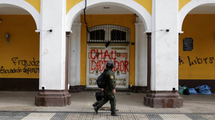 Las manifestaciones en contra de Evo Morales son notorias en varias ciudades.