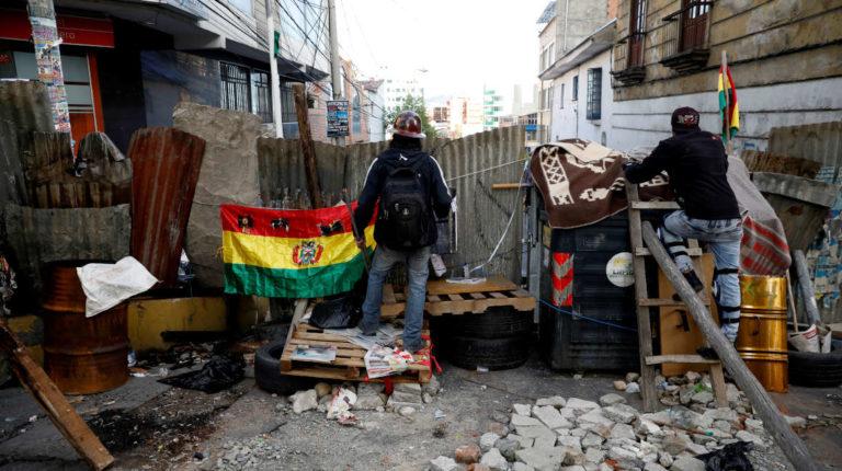 protestas bolivia barricada