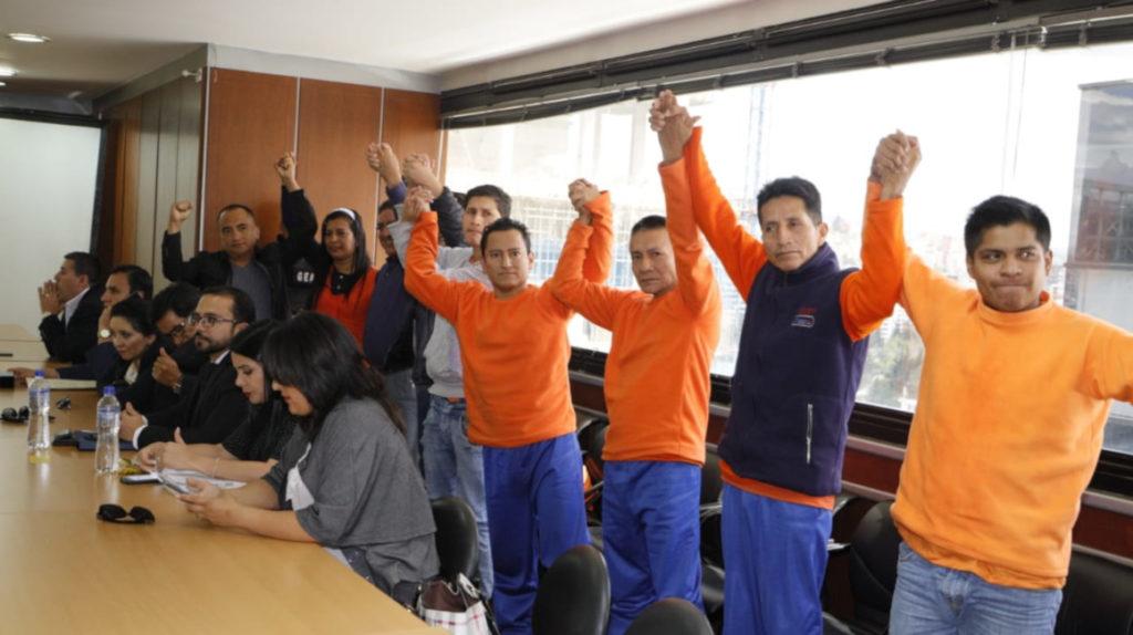 Cinco sentenciados por paralizar el SOTE, entre ellos un asambleísta, sí irán a prisión